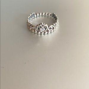 Pandora Princess Tiara Crown Ring